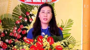 Đồng chí Bùi Thị Quỳnh Vân nhận số phiếu bầu cao nhất chức danh Bí thư Tỉnh ủy Quảng Ngãi