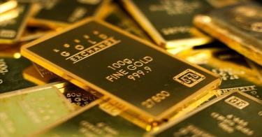 Giá vàng SJC tiến sát 58 triệu đồng/lượng. (Ảnh minh họa)