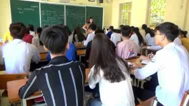 Thầy và trò Trường THPT Lê Quý Đôn sẵn sàng cho Kỳ thi tốt nghiệp THPT năm 2020.