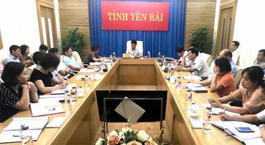 Hội nghị trực tuyến triển khai nhiệm vụ 6 tháng cuối năm 2020 thuộc lĩnh vực lao động, người có công và xã hội tổ chức ngày 16/7.