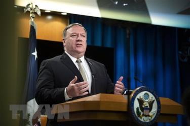 Ngoại trưởng Mỹ Mike Pompeo.