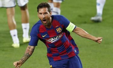 Messi chơi nổi bật trong chiến thắng của Barca.