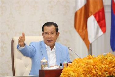 Thủ tướng Campuchia Samdech Techo Hun Sen.