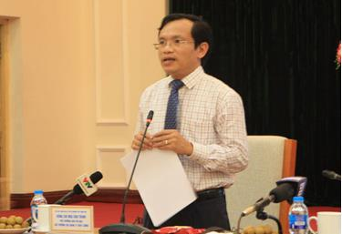 Ông Mai Văn Trinh - Cục trưởng Cục Quản lý chất lượng, Bộ GD-ĐT