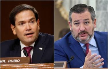 Thượng nghị sỹ Ted Cruz và Marco Rubio nằm trong số 11 quan chức Mỹ bị Trung Quốc áp đặt lệnh trừng phạt.