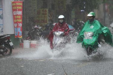 Từ đêm 12-8, Bắc Bộ sẽ xảy ra một đợt mưa lớn diện rộng kéo dài. Ảnh minh họa