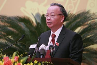 Ông Nguyễn Văn Sửu, Phó chủ tịch Thường trực UBND TP Hà Nội .