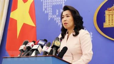 Foreign Ministry Spokeswoman Le Thi Thu Hang