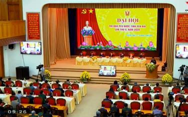 Đại hội thi đua yêu nước tỉnh Yên Bái lần thứ X diễn ra sáng 20/8/2020.