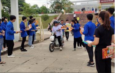 """Tuổi trẻ Yên Bái chuẩn bị sẵn sàng tâm thế cho """"Tiếp sức mùa thi"""" tốt nghiệp THPT năm 2020."""