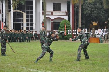 Nâng cao chất lượng huấn luyện, khả năng sẵn sàng chiến đấu là nhiệm vụ trọng tâm trong thực hiện Phong trào Thi đua Quyết thắng của lực lượng vũ trang tỉnh.
