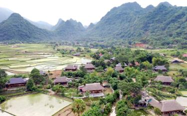 Peaceful rural view in Lam Thuong, Luc Yen.