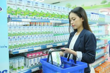 Các sản phẩm sữa hữu cơ (organic) của Vinamilk luôn được người tiêu dùng tin tưởng chọn mua