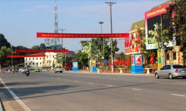 Khu vực Quảng trường 19 - 8 thuộc phường Đồng Tâm.