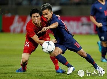 Đội tuyển Việt Nam có trận hòa như thắng trước Thái Lan.