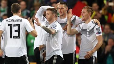Tuyển Đức lên ngôi đầu sau chiến thắng Bắc Ireland.