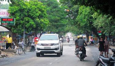 Trong thời gian cấm đường các phương tiện cần tuyệt đối tuân thủ để đảm bảo Lễ hội diễn ra an toàn. (ảnh minh họa)