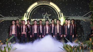 Các thí sinh lọt vào chung kết Mister Việt Nam 2019.