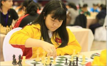 Nguyễn Thiên Ngân giành chức vô địch cờ nhanh trẻ thế giới lứa tuổi U14.