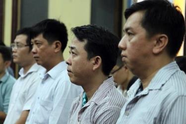 Các bị cáo trong vụ VN Pharma nghe tuyên án.