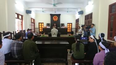 Tài xế Lương Văn Tâm bị phạt 13 năm tù.