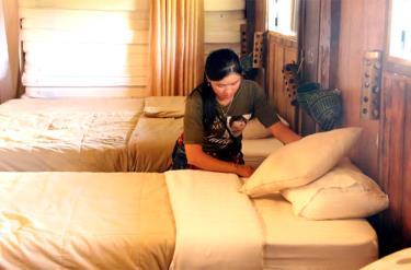 Các khách sạn, nhà nghỉ trên địa bàn thị xã Nghĩa Lộ đều được chuẩn bị chu đáo, sẵn sàng đón khách.