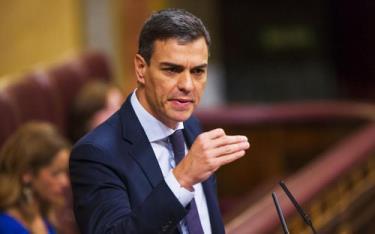 Quyền Thủ tướng Tây Ban Nha Pedro Sanchez.