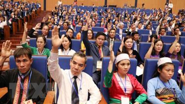 Đại biểu hiệp thương cử Uỷ ban Trung ương MTTQ Việt Nam khóa IX.