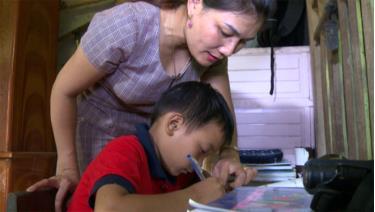 Em Chu Văn Minh đã học tập tiến bộ từ khi có cô Thảo quan tâm, kèm cặp, giúp đỡ.