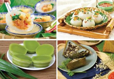 Việt Nam là quốc gia có nhiều món bánh làm từ bột gạo nhất.