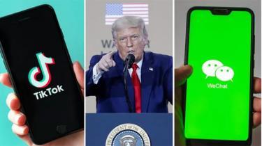 Từ 20/9, người dùng tại Mỹ sẽ không thể tải mới hoặc cập nhật TikTok và WeChat