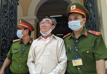 Nguyễn Khanh - đối tượng cầm đầu nhóm khủng bố nhằm chống chính quyền nhân dân bị tuyên 24 năm tù.