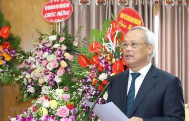Phó Chủ tịch Quốc hội, Chủ tịch Ủy ban Hòa bình Việt Nam Uông Chu Lưu phát biểu khai mạc.
