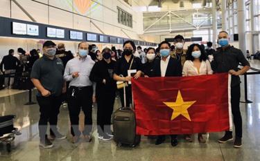 Đưa công dân Việt Nam từ nước ngoài về nước.