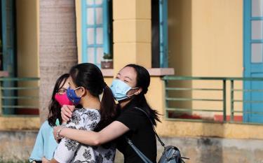 Niềm vui của công dân Việt Nam từ nước ngoài trở về khi hoàn thành thời gian cách ly.