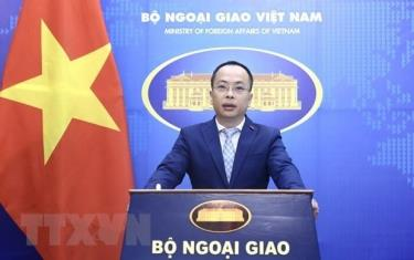 Vice spokesperson of the Foreign Ministry Doan Khac Viet