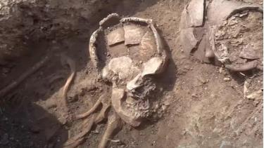 Nguyên nhân cái chết của những người định cư cổ đại vẫn chưa được biết đến.