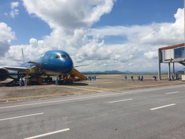 Chuyến bay mang số hiệu VN5311 là chuyến bay đầu tiên thí điểm chương trình cách ly y tế 7 ngày.
