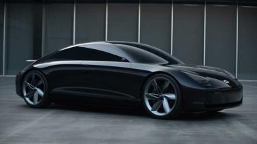Mẫu concept Prophecy của Hyundai có hình dáng độc đáo.