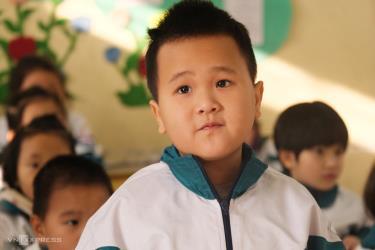 Học sinh trường Tiểu học Bích Sơn, huyện Việt Yên, Bắc Giang trong tiết học Tiếng Việt hôm 19/1.