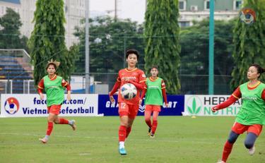Đội tuyển nữ Việt Nam kết thúc tập huấn chuẩn bị lên đường tham dự vòng loại Giải bóng đá Nữ vô địch châu Á 2022 tại Tajikistan.