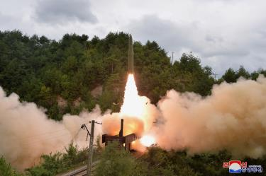 Tên lửa do Triều Tiên phóng lên vào ngày 15.9.