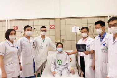 Chị A. hồi phục sau 3 tháng điều trị.