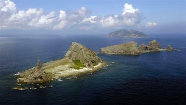 Các đảo Minamikojima, Kitakojima và Uotsuri trên quần đảo Senkaku ở biển Hoa Đông.