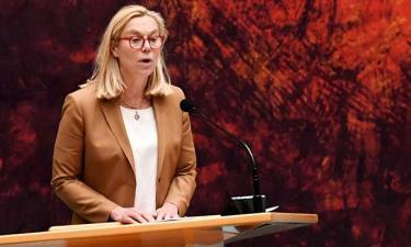 Ngoại trưởng Hà Lan Sigrid Kaag.