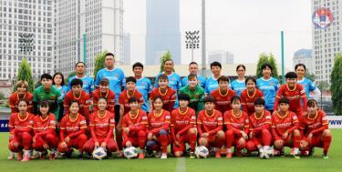Thành phần tuyển nữ Việt Nam dự Vòng loại Giải Bóng đá Nữ vô địch châu Á 2022.