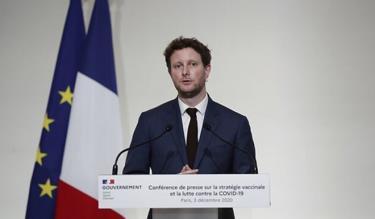 Bộ trưởng Các vấn đề EU của Pháp Clement Beaune. Ảnh: AP