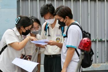 4,7% trong tổng số hơn 1 triệu thí sinh có tổng điểm thi tốt nghiệp trung học phổ thông 3 môn ở mọi tổ hợp từ 27 điểm trở lên.