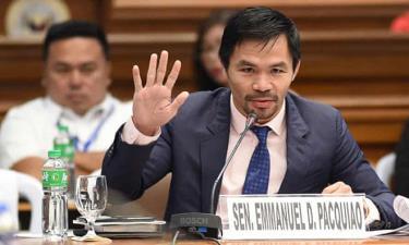 Huyền thoại quyền anh Pacquiao sẽ tranh cử Tổng thống Philippines.