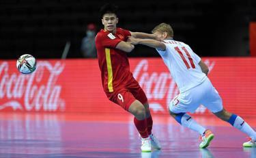 Đội tuyển futsal Việt Nam phải đụng đương kim Á quân World Cup là Nga ngay vòng 1/8.